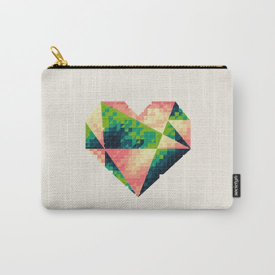 A heart is made of bits and pieces II Carry-All Pouch
