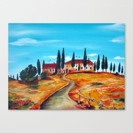 TUSCAN SUMMER Canvas Print