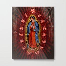 Virgin de Guadalupe Metal Print