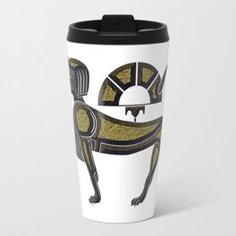 Sphinx - mythical creature of ancient Egypt Travel Mug