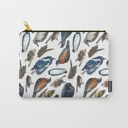 Dead Bird Pattern Carry-All Pouch
