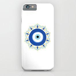 Evil eye Mandala iPhone Case