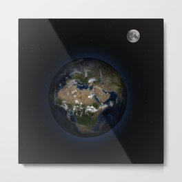 Earth2 Metal Print