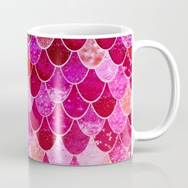 PINK  MERMAID Coffee Mug