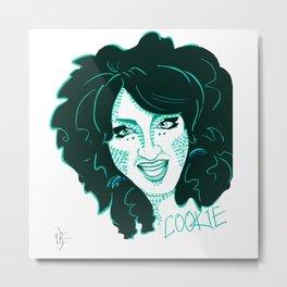 Cookie Metal Print