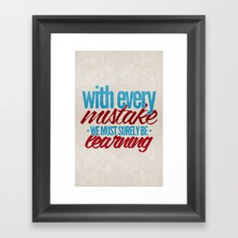 While My Guitar Gently Weeps.  Framed Art Print
