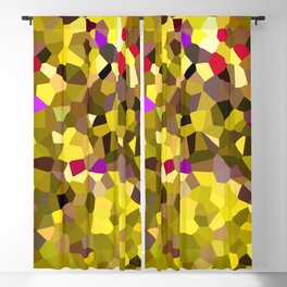 Tulips in Sunshine Red Pink Yellow Blackout Curtain