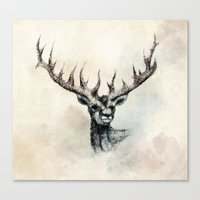 elk Canvas Prints featuring ELK by Arkady Zaifman
