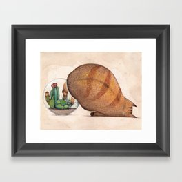 A Hand Framed Art Print