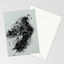 THE LONELY BIRD SONG Stationery Cards