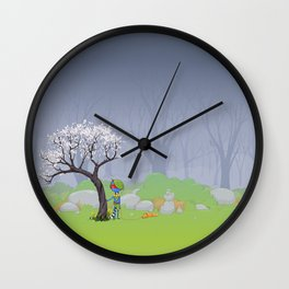 Scout Wall Clock