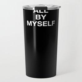 freedom - plain font Travel Mug