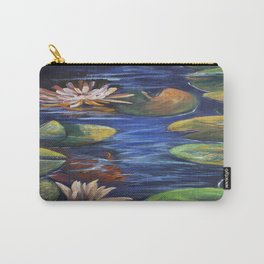 Lily Pond Delight Carry-All Pouch