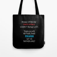 motivation Tote Bags featuring Motivation by Sabreen Aziz