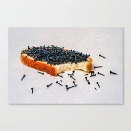 Yogi Breakfast Canvas Print