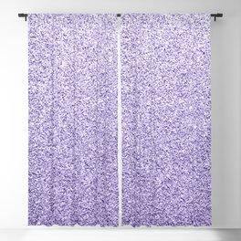 Ultra violet light purple glitter sparkles Blackout Curtain