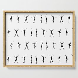Funny Face | Fashion Illustration Serving Tray