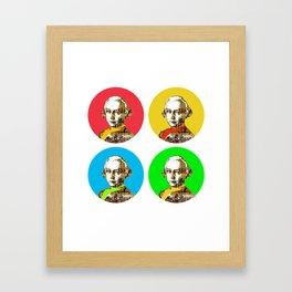 Mozart Kugeln 4c Framed Art Print
