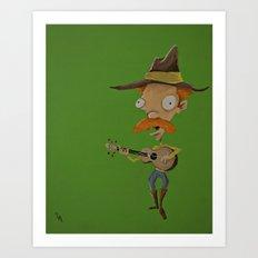 whiskey murphy Art Print