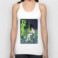 gaming Tank Tops featuring Tokyo Gaming by monocefalus