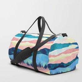 Winter Sunset Duffle Bag