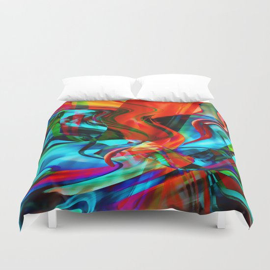 Love Tornado Duvet Cover