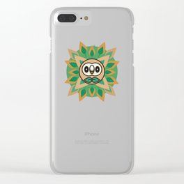 Rowlet's Forest Clear iPhone Case