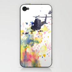 Helicopter Flying into Color iPhone & iPod Skin