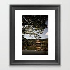Kinkakuji/The Golden Pavilion, Kyoto Framed Art Print