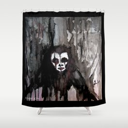 The Bringer of Nightmares Shower Curtain