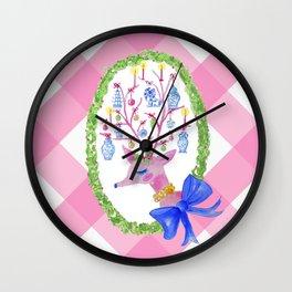 Ravishing Reindeer Wall Clock