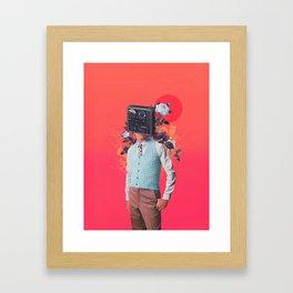 Phonohead Framed Art Print