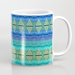 Illuminated Neo Tribal Micro pattern (HDR) Coffee Mug