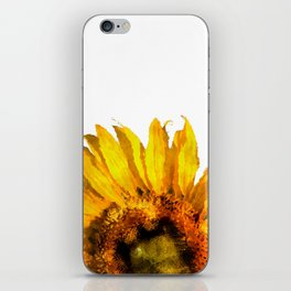 Simply a sunflower iPhone Skin