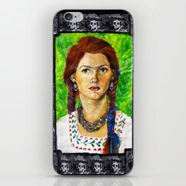 Alter Ego Self Portrait #2 iPhone Skin
