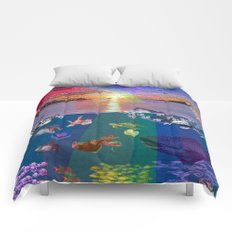 ...and the monstrous creatures of whales [full] Comforters