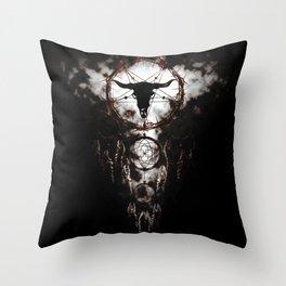 Dreamcatcher - Pentagram Throw Pillow
