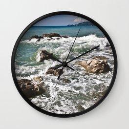 East coast on the Isle of Sicily Wall Clock