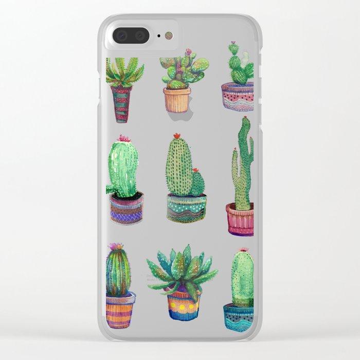 choose your cactu Clear iPhone Case