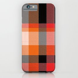 Rad Plaid iPhone Case