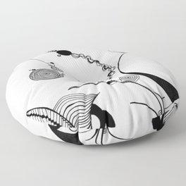 Sci Fi Abstract Floor Pillow