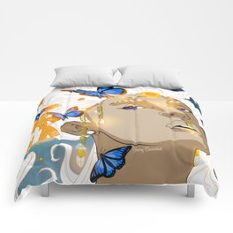 Butterflies Amazon Comforters