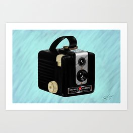 Brownie Camera Art Print