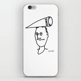 Dunce iPhone Skin