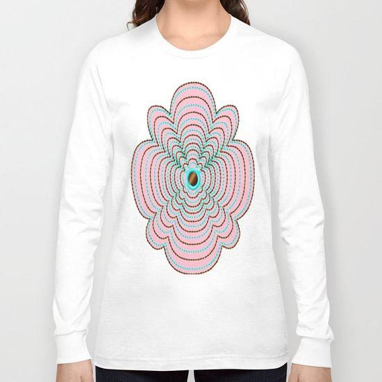 Scalloped Daisys Long Sleeve T-shirt