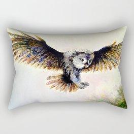 Dark owl Rectangular Pillow