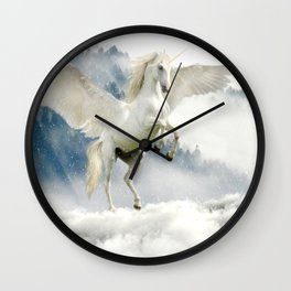 Magic Unicorn Wall Clock