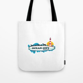 Ocean City - Maryland. Tote Bag