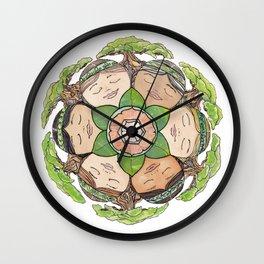 Earth Dreaming Wall Clock