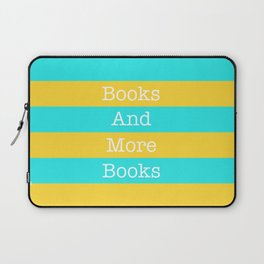 Books and More Books Laptop Sleeve